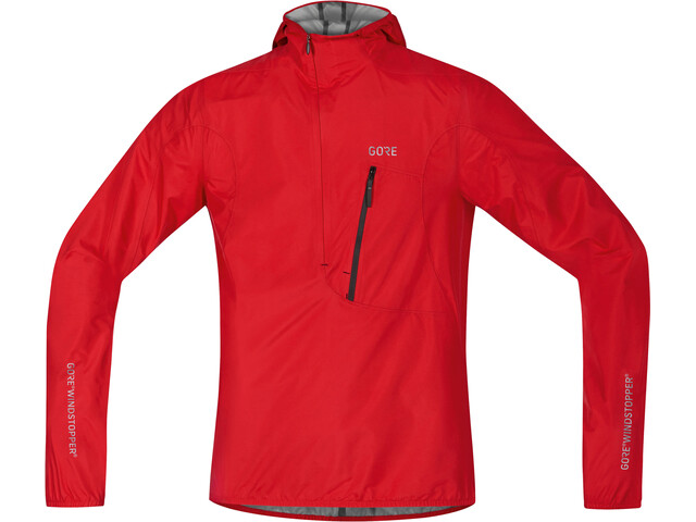 GORE WEAR C7 Rescue Windstopper Hooded Jacket Men red